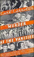 Murder at the Vanities 1934 DVD - Carl Brisson / Victor McLaglen
