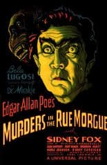 Murders in the Rue Morgue 1932 DVD - Sidney Fox / Bela Lugosi