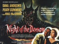Night of the Demon 1957 DVD - Dana Andrews / Peggy Cummins