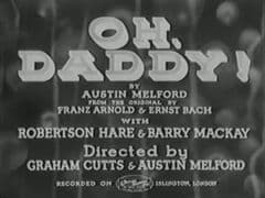 Oh Daddy 1935 DVD - Leslie Henson / Frances Day