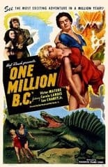 One Million B.C 1940 DVD - Victor Mature / Carole Landis
