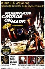 Robinson Crusoe on Mars 1964 DVD - Paul Mantee / Adam West