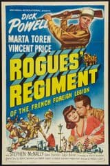 Rogues' Regiment 1948 DVD - Dick Powell / Vincent Price