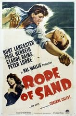 Rope of Sand 1949 DVD - Burt Lancaster / Paul Henreid