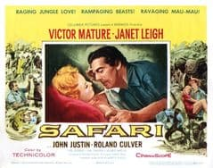 Safari 1956 DVD - Victor Mature / Janet Leigh