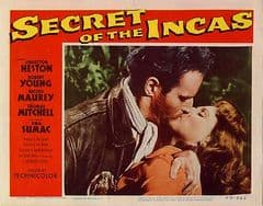 Secret of the Incas 1954 DVD - Charlton Heston / Robert Young