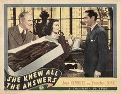She Knew All the Answers 1941 DVD - Joan Bennett / Franchot Tone