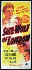 She Wolf of London 1946 DVD - Don Porter / June Lockhart