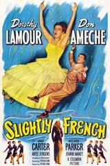 Slightly French 1949 DVD - Dorothy Lamour / Don Ameche
