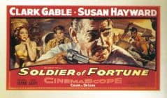 Soldier of Fortune 1955 DVD - Clark Gable / Susan Hayward