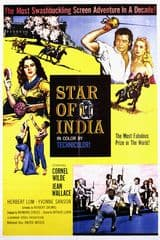 Star of India 1954 DVD - Cornel Wilde / Leslie Linder