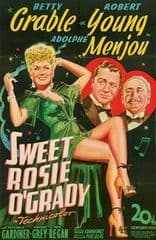 Sweet Rosie O'Grady 1943 DVD - Betty Grable / Robert Young