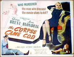 The Corpse Came C.O.D 1947 DVD - George Brent / Joan Blondell