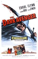 The Dark Avenger 1955 DVD - Errol Flynn / Joanne Dru