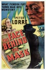 The Face Behind the Mask 1941 DVD - Peter Lorre / Evelyn Keyes