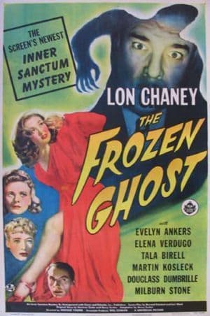 The Frozen Ghost 1945 DVD - Lon Chaney Jr / Evelyn Ankers