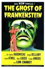 The Ghost of Frankenstein 1942 DVD - Lon Chaney Jr. / Cedric Hardwicke