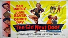 The Girl Next Door 1953 DVD - Dan Dailey / June Haver
