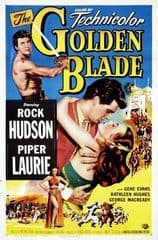 The Golden Blade 1953 DVD - Rock Hudson / Piper Laurie