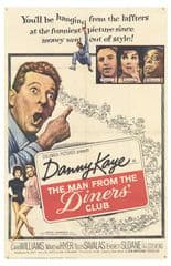 The Man from the Diners' Club 1963 DVD - Danny Kaye / Cara Williams