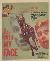 The Man with My Face 1951 DVD - Barry Nelson / Carole Mathews
