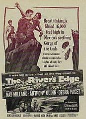 The Rivers Edge 1957 DVD - Ray Milland / Anthony Quinn