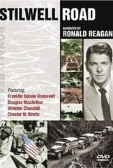 The Stilwell Road 1945 DVD - Ronald Reagan