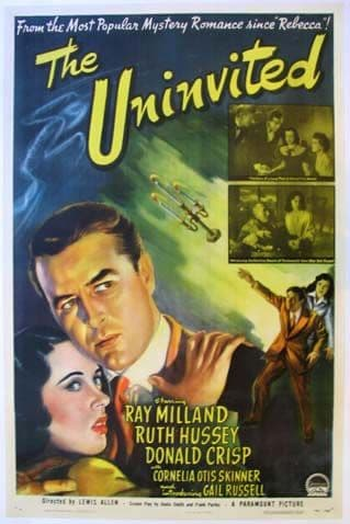 The Uninvited 1944 DVD - Ray Milland / Ruth Hussey