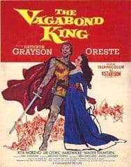 The Vagabond King 1956 DVD - Kathryn Grayson / Oreste Kirkop