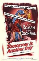 Tomorrow Is Another Day  1951 DVD - Ruth Roman / Steve Cochran