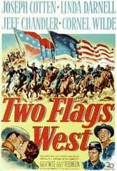 Two Flags West 1950 DVD - Joseph Cotten / Linda Darnell