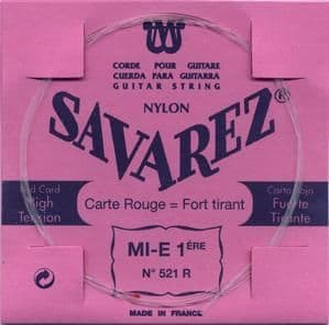 Savarez Red Card Single Classical Strings