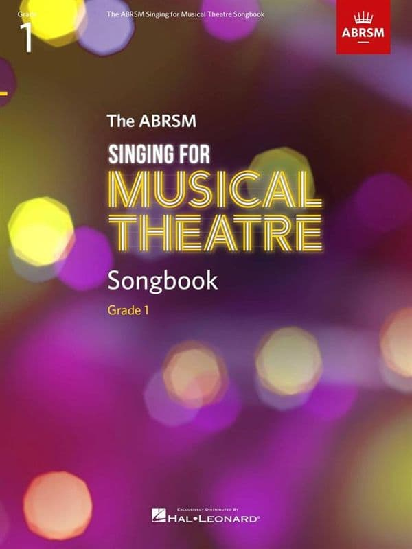 ABRSM Singing for Musical Theatre Songbook <br>Grade 1