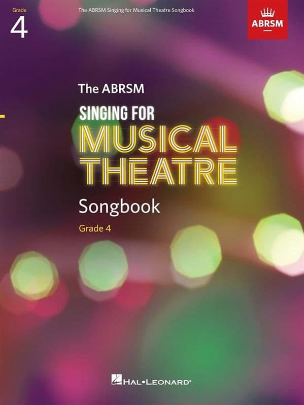 ABRSM Singing for Musical Theatre Songbook <br>Grade 4