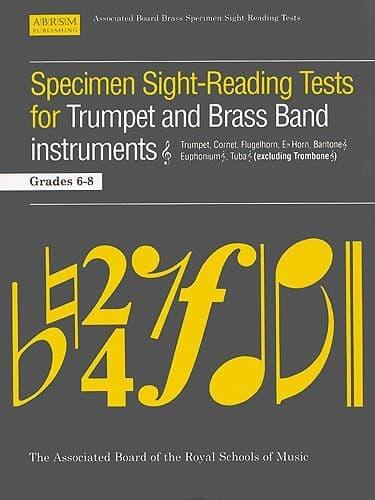 ABRSM Specimen Sight Reading Trumpet Grades 6-8