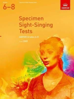 ABRSM Specimen Sight-Singing Tests Grades 6-8