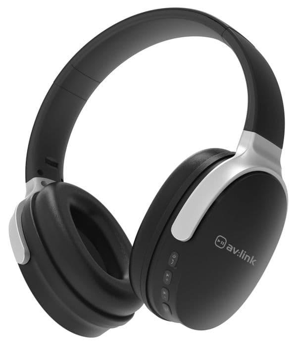 AV:Link WBH-40 Over-Ear Wireless Bluetooth Headphones