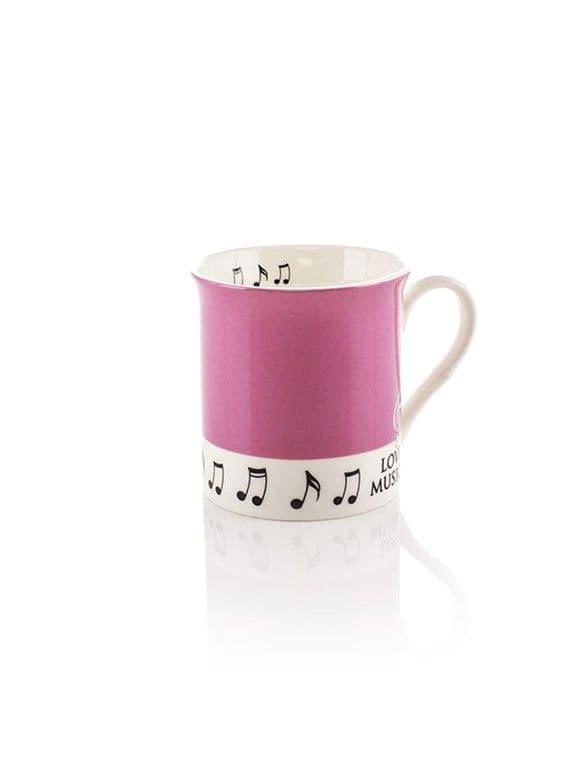 Colour Block Mug - Pink