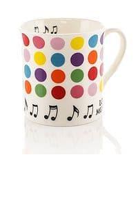 Colour Block Mug - Spots