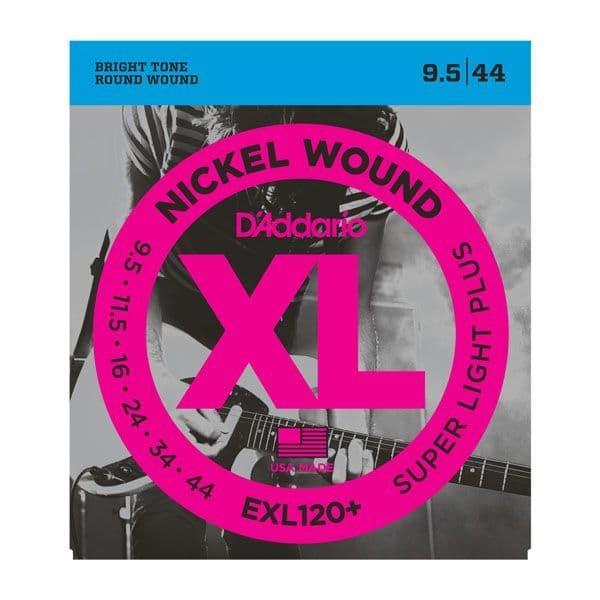 D'Addario XL Nickel Wound Electric Guitar Strings <br>9.5-44