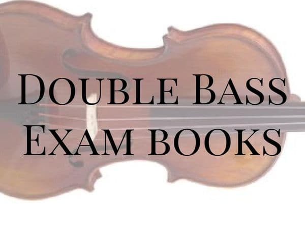 Double Bass Exam Books