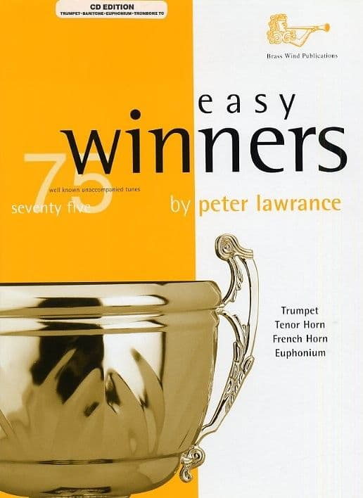 Easy Winners Treble Clef Brass + CD