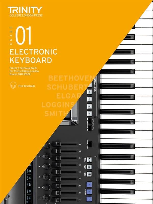 Electronic Keyboard Exam Pieces 2019-2022<br>Grade 1