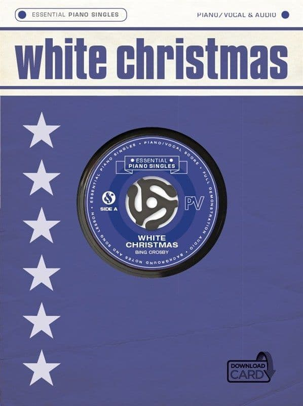 Essential Piano Singles - Bing Crosby - White Christmas (Single Sheet/Audio Download)