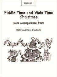 Fiddle Time And Viola Time Christmas Piano Accompaniment Book