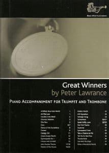 Great Winners Treble Clef Brass Piano Accompaniment