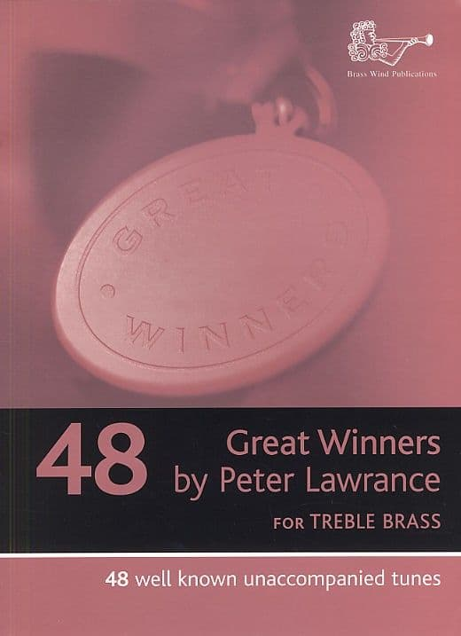 Great Winners Treble Clef Brass with CD (Eb/F horn)
