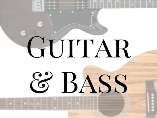 Guitar & Bass Song Books & Tuition