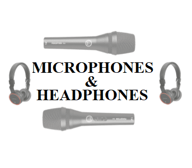 Microphone & Headphones