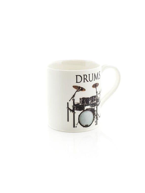 Music Word Mug - Drums